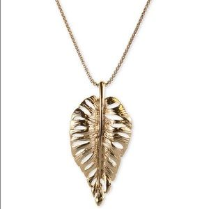 Charter Club new Gold Leaf Necklace
